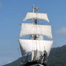 East Coast to Oban. Mile Building in a 29m Square Rigged Tall Ship. added by Siobhan
