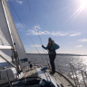 Sailing Weekend From Portsmouth to Lymington. added by Simon Edwards