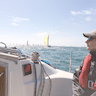 Solent Sailing Weekend - Watching the Round the Island Race added by Manel